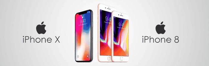aankondiging iphone X en 8