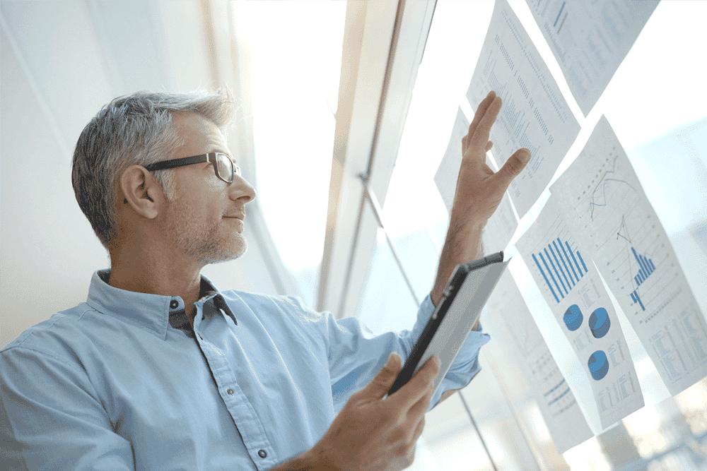 managementinformatie dashboard met de vcare reporter app