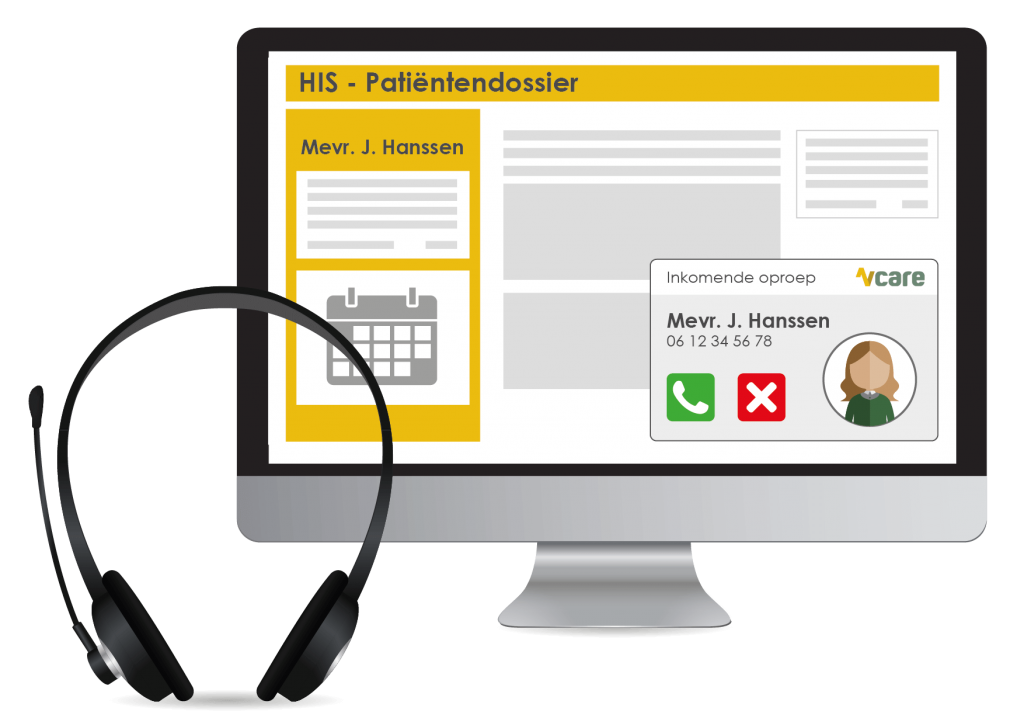 Vcare Integrator applicatie