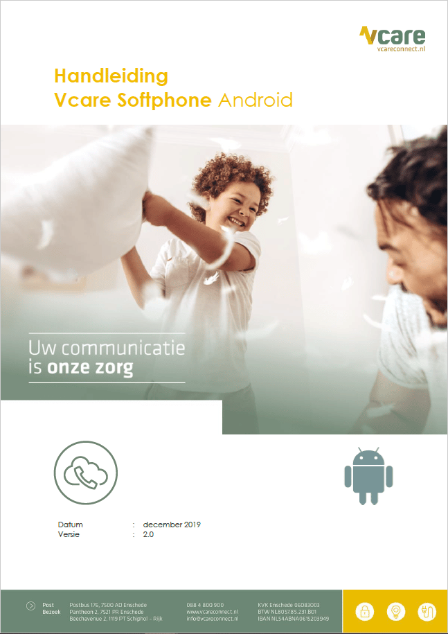 Softphone android handleiding