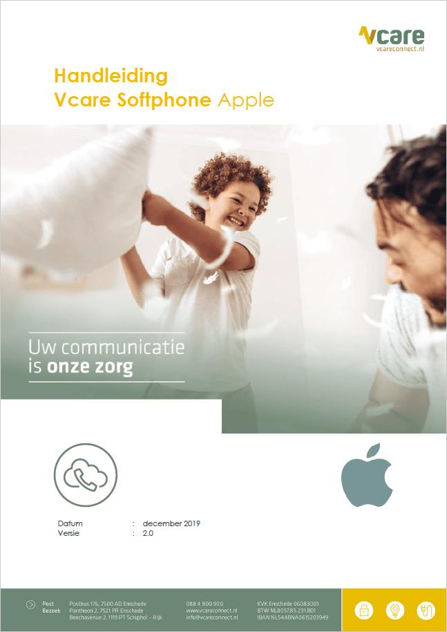 Softphone Apple handleiding
