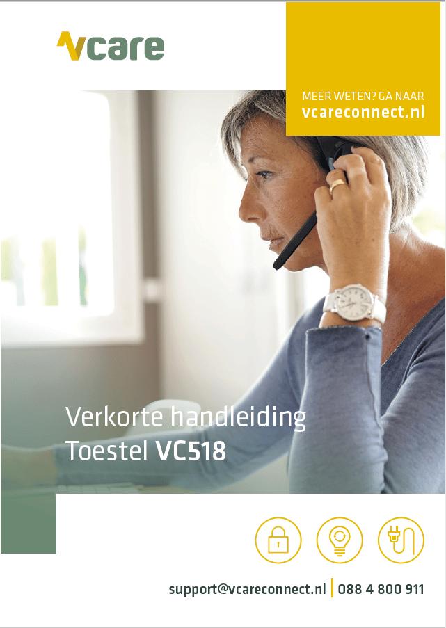 VC518 verkorte handleiding 042020