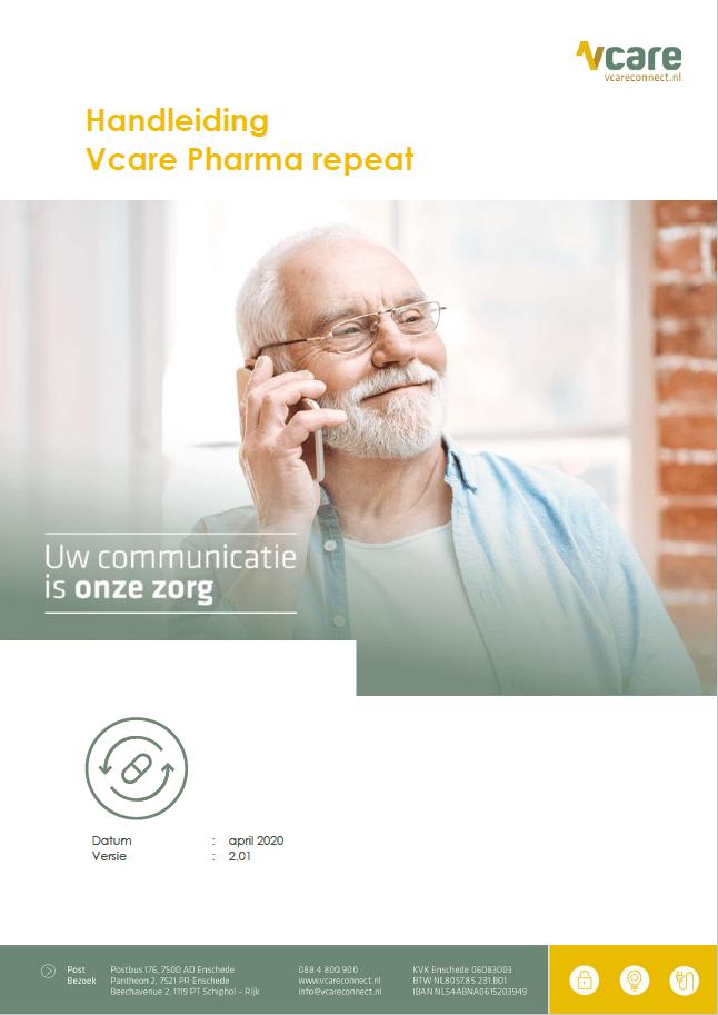Voorblad pharma repeat handleiding