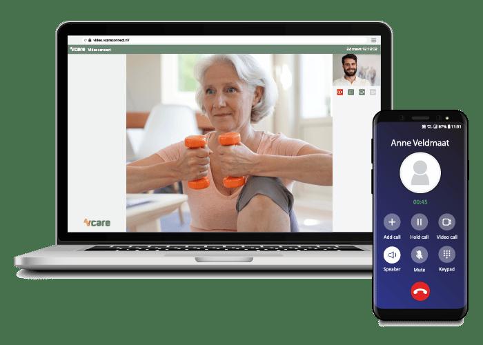 vrijstaande applicatie beeldzorg voor zorgprofessionals