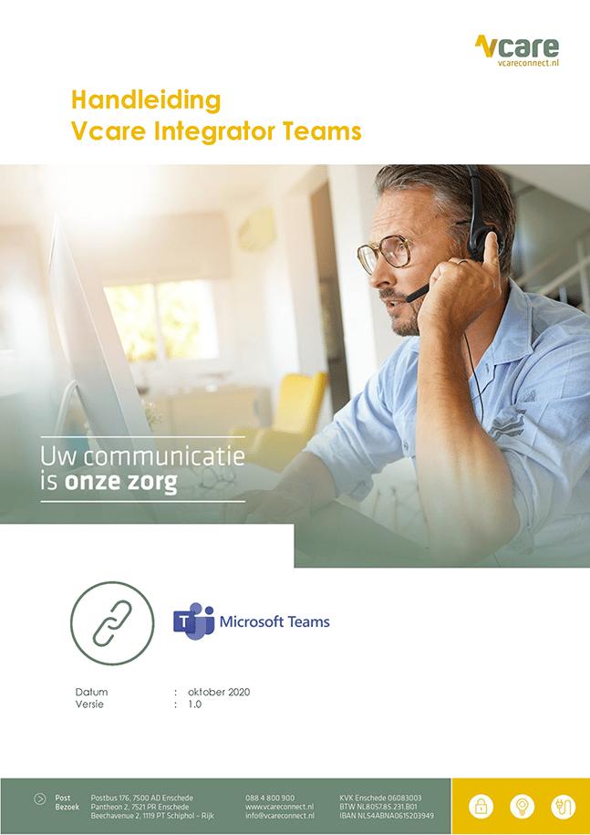 Voorblad integratie Teams v1.0