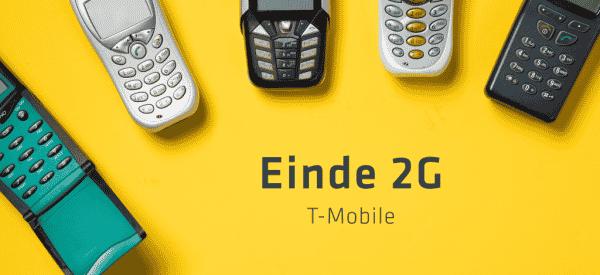 t-mobile stopt ondersteuning 2G netwerk