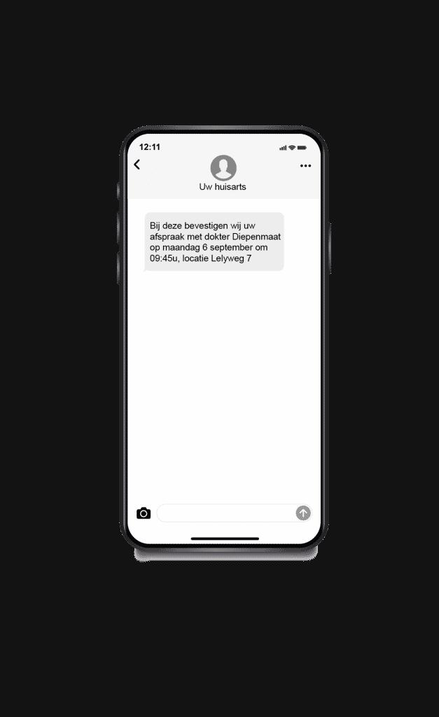 automatisch sms versturen via pc naar mobiel